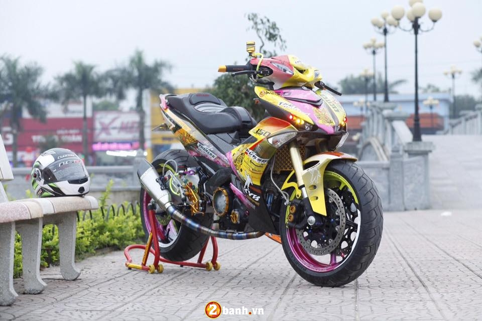 Can canh Yamaha Exciter 150 do khung o Thai Nguyen - 2