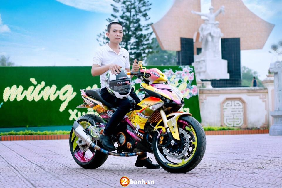 Can canh Yamaha Exciter 150 do khung o Thai Nguyen - 11