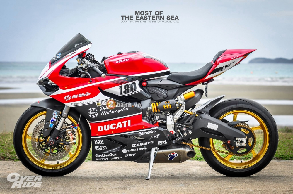 Ducati 899 Panigale do dep an tuong va chat den tung milimet