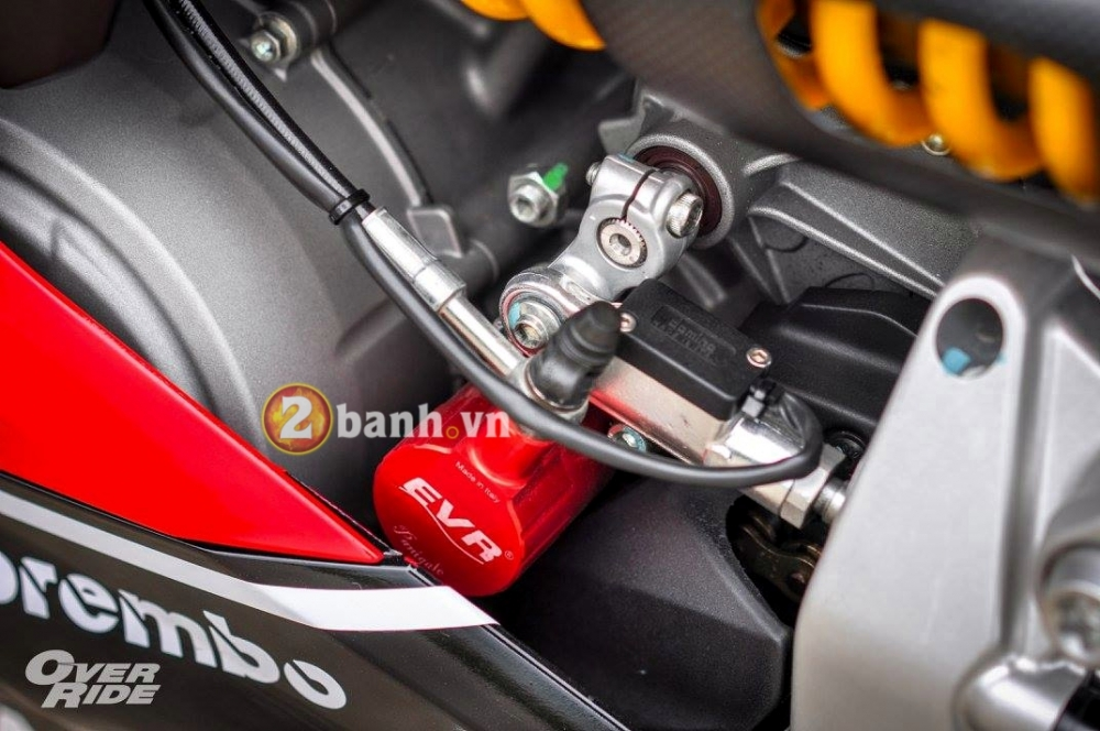 Ducati 899 Panigale do dep an tuong va chat den tung milimet - 9