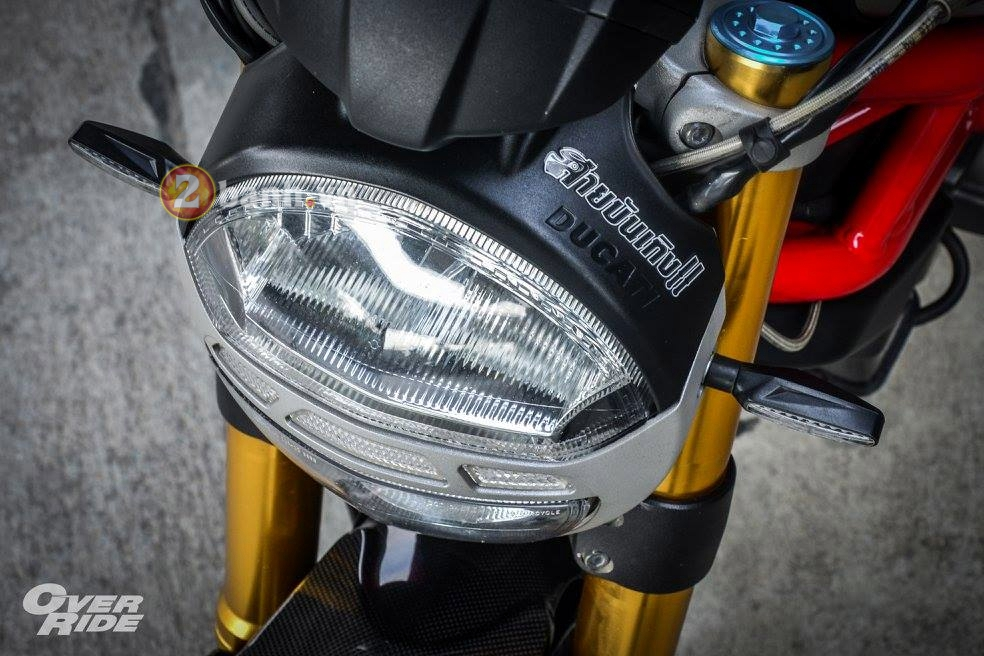 Ducati Monster 795 day an tuong voi phien ban The Evil One - 3