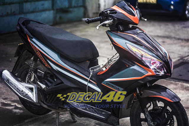 Tem xe Airblade 125 Slider doc dao tai Decal 46 - 3