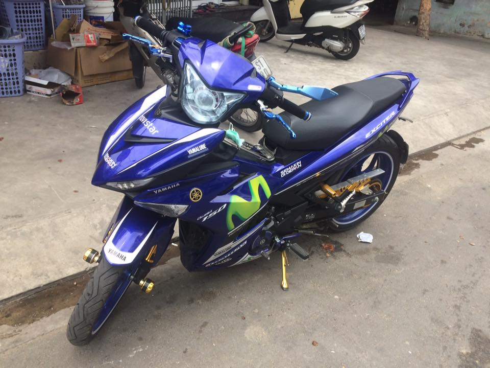 Exciter 150 Movistar don nhe style zin