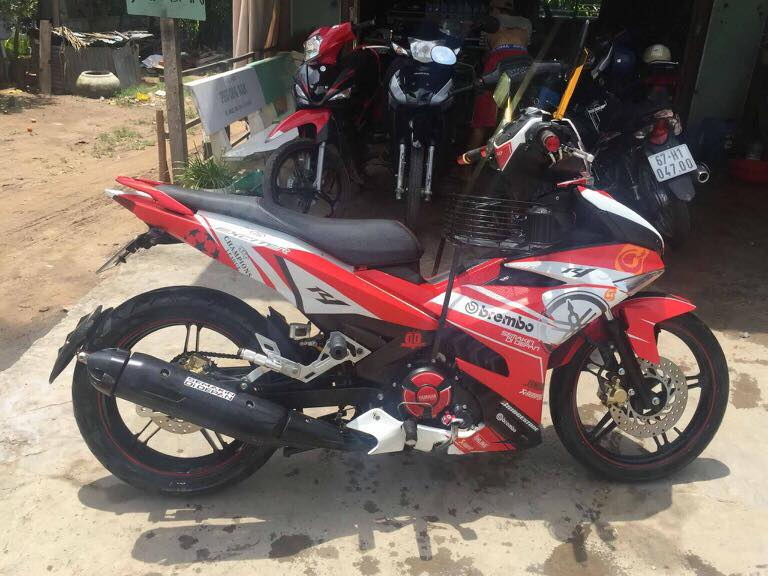 Exciter 150 choi loa o Dong Thap