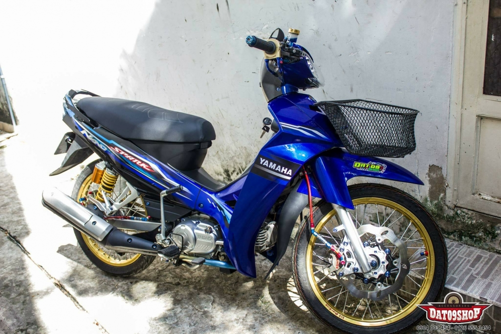 Yamaha Sirius sieu chat trong ban do dam chat Thai