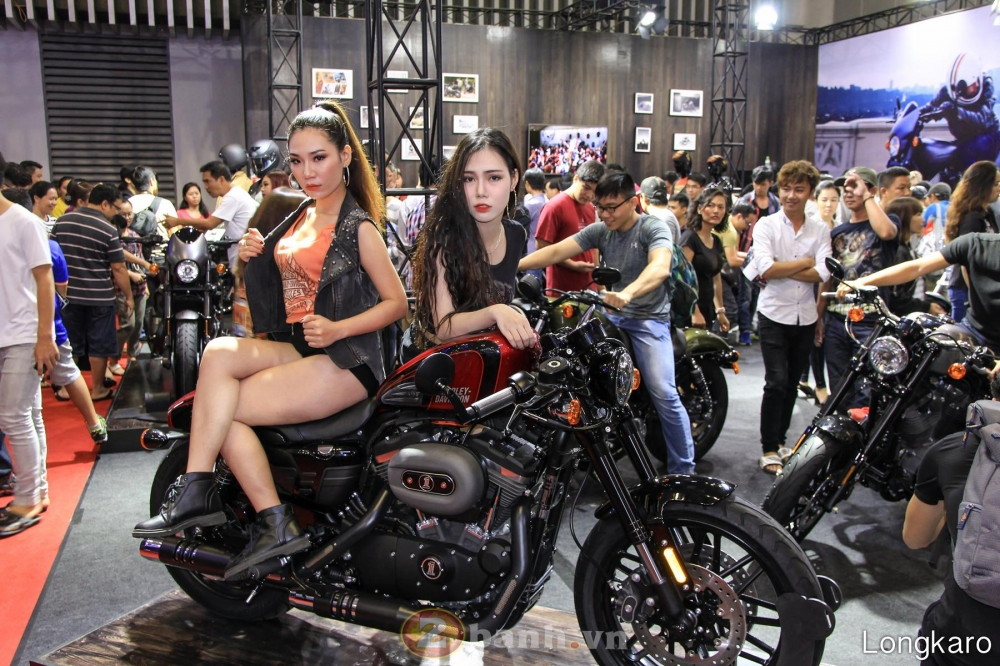 50 co gai hot nhat VietNam Motorcycle Show 2017 - 32
