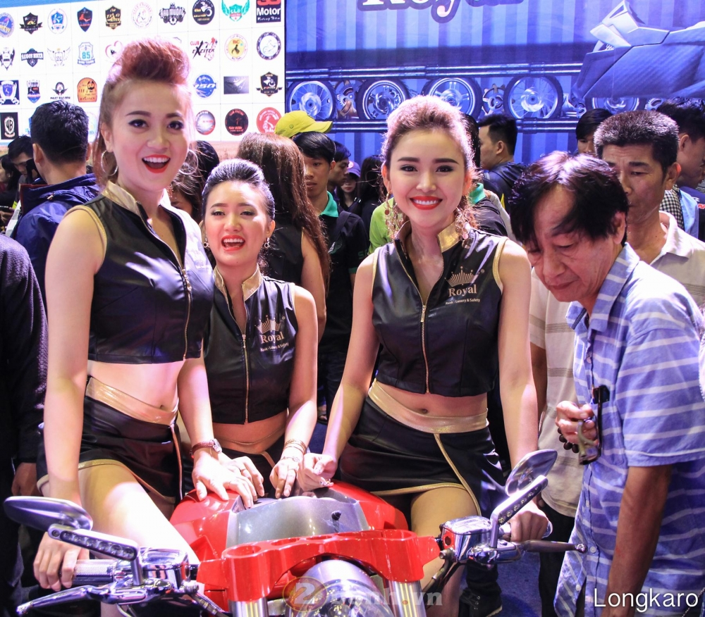 50 co gai hot nhat VietNam Motorcycle Show 2017 - 43