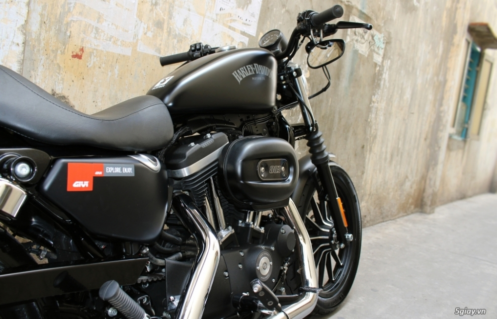 ___ Can Ban ___HARLEY DAVIDSON 883 Iron ABS 2016___ - 5
