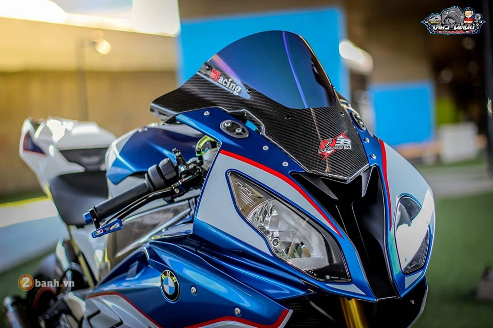 BMW S1000RR toa sang voi ban do cuc chat tu biker Thai Lan - 3