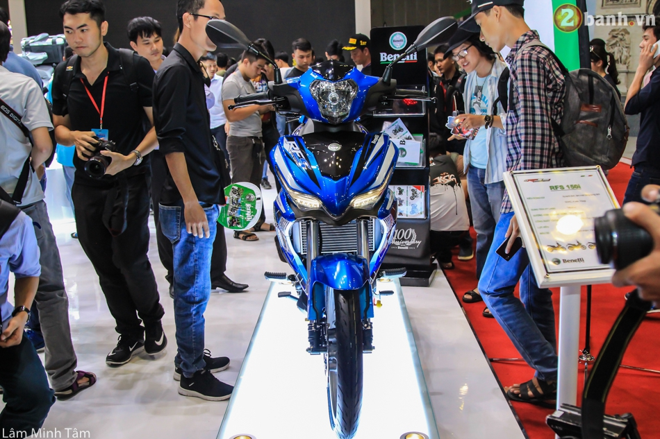 Can canh Benelli RFS 150 tai VMCS 2017