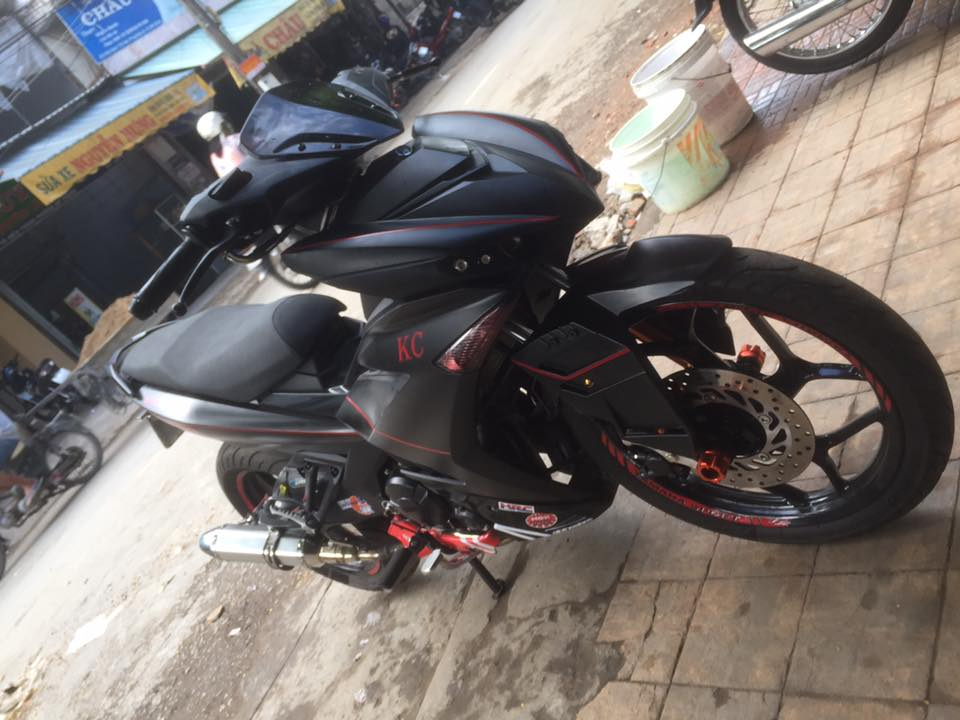 Exciter 150 day an tuong voi man lot xac cuc ngau - 5