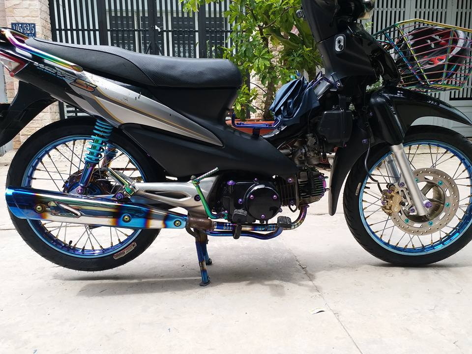 Wave S100 don nhe voi dan chan bat thuong