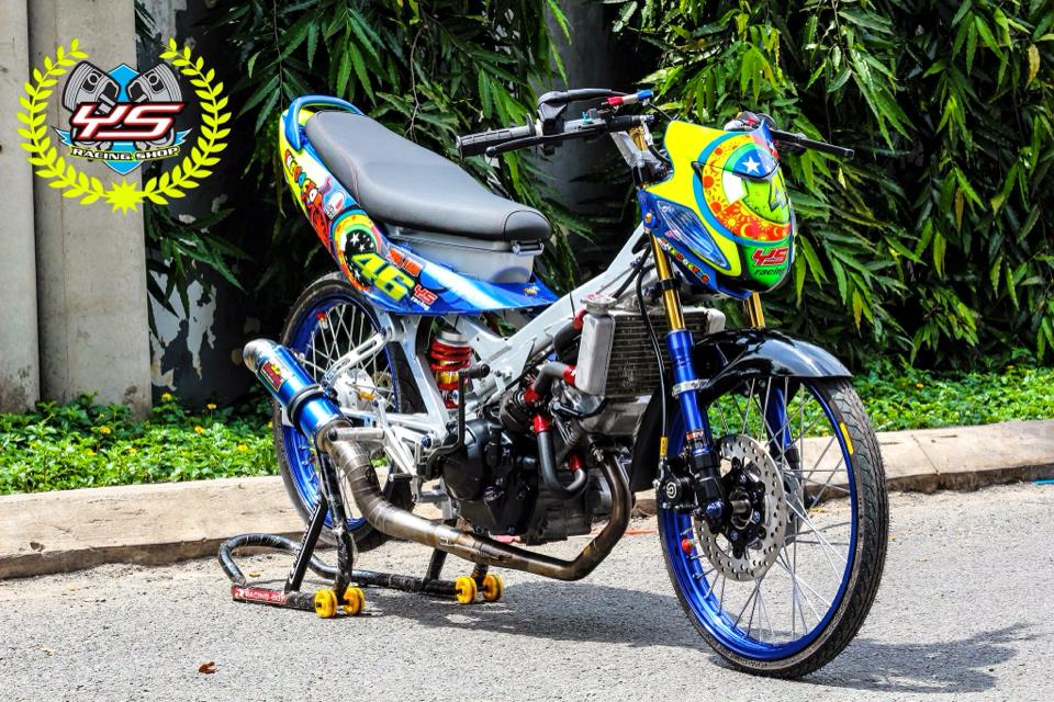 Sonic 125 do phong cach drag chat no table - 7