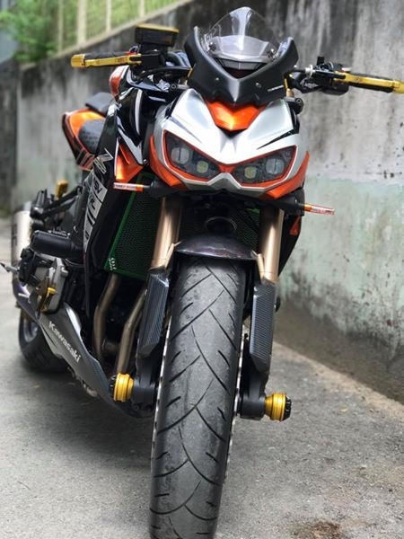 Kawasaki Z1000 do gan full option DMV day chat choi - 3
