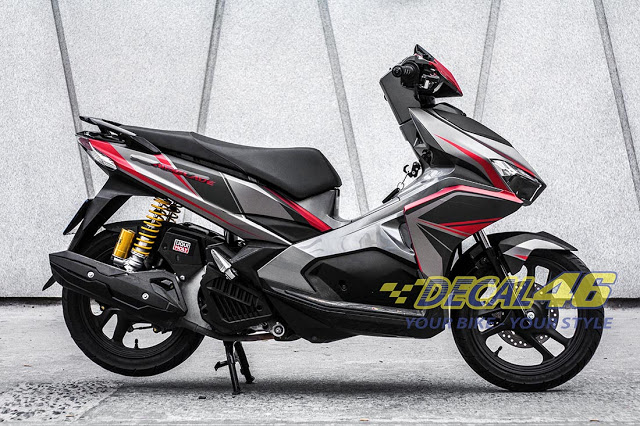 Tem xe Airblade 2016 Simple do Decal 46 thuc hien - 5