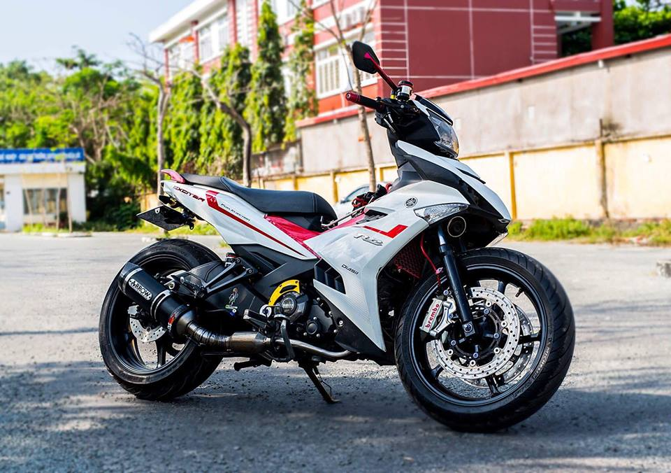 Yamaha Exciter 150 do KHUNG voi dan chan day co bap - 4