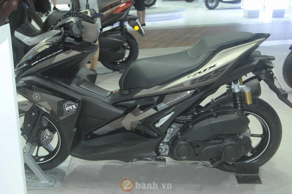 Yamaha trinh lang mau NVX Limited Edition voi nhieu chi tiet an tuong - 2