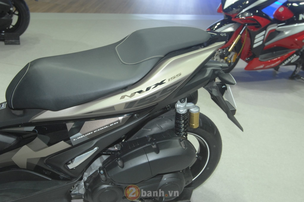 Yamaha trinh lang mau NVX Limited Edition voi nhieu chi tiet an tuong - 5