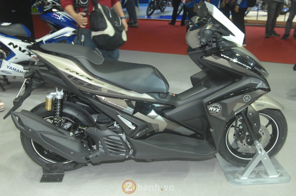 Yamaha trinh lang mau NVX Limited Edition voi nhieu chi tiet an tuong - 4