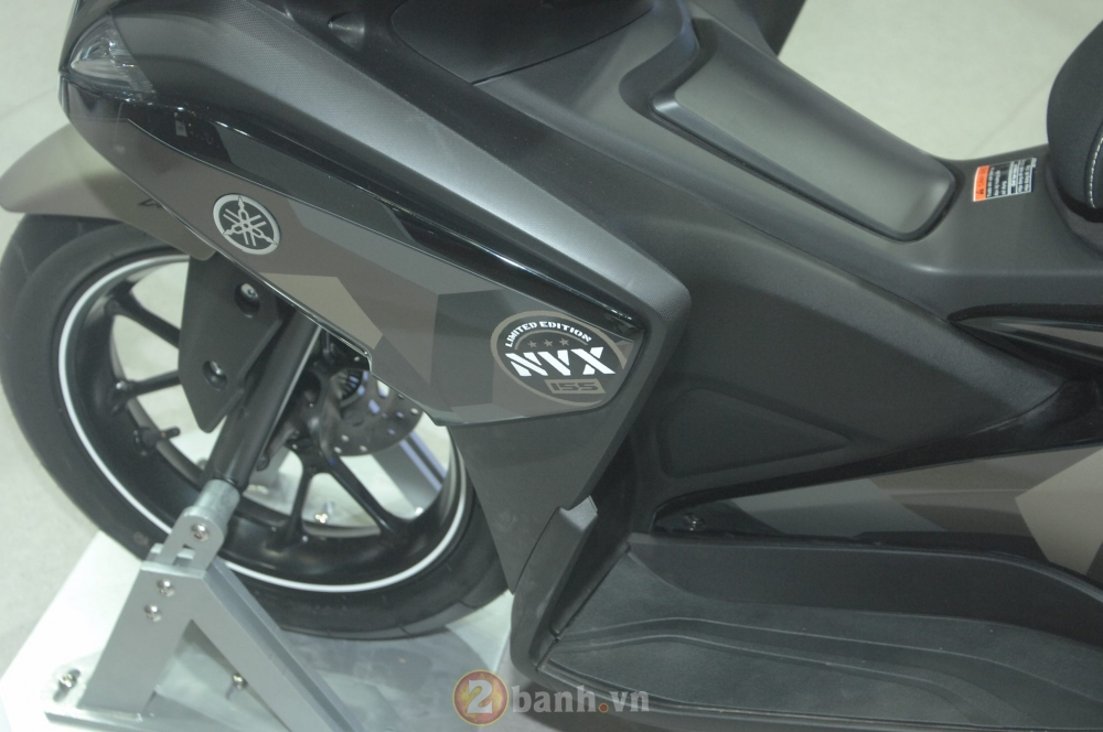 Yamaha trinh lang mau NVX Limited Edition voi nhieu chi tiet an tuong - 17