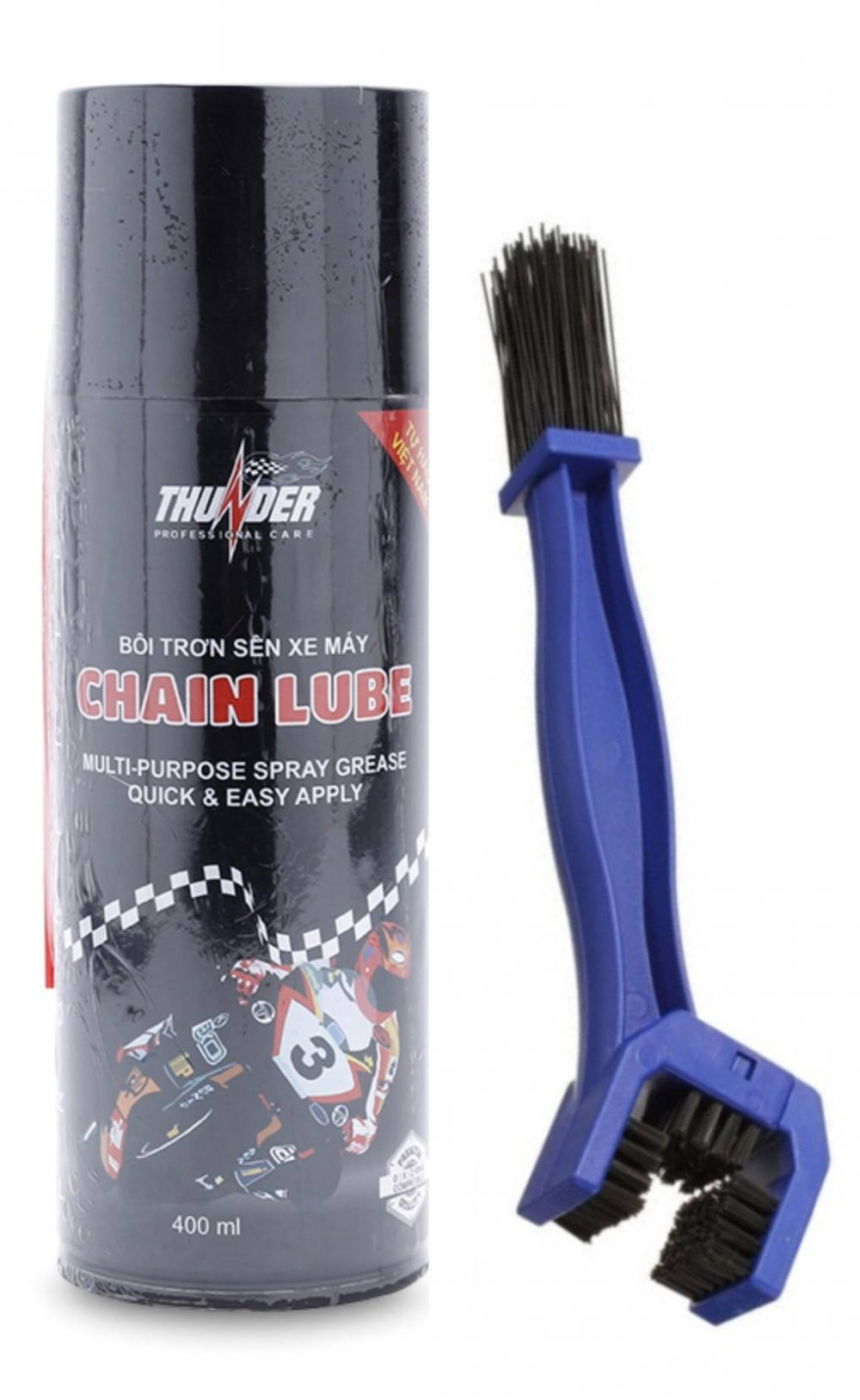 Boi tron va bao ve sen Thunder Chain Lube 400ml
