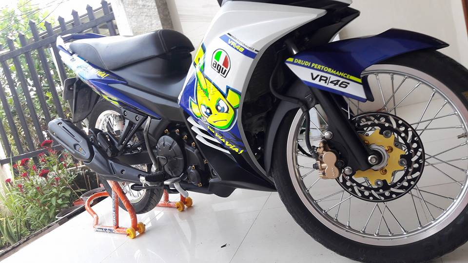 Exciter 135 that dang yeu voi ca map Pista GP Misano - 4