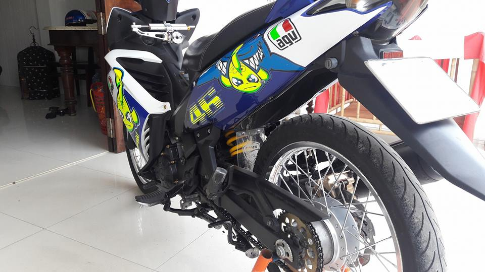 Exciter 135 that dang yeu voi ca map Pista GP Misano - 6