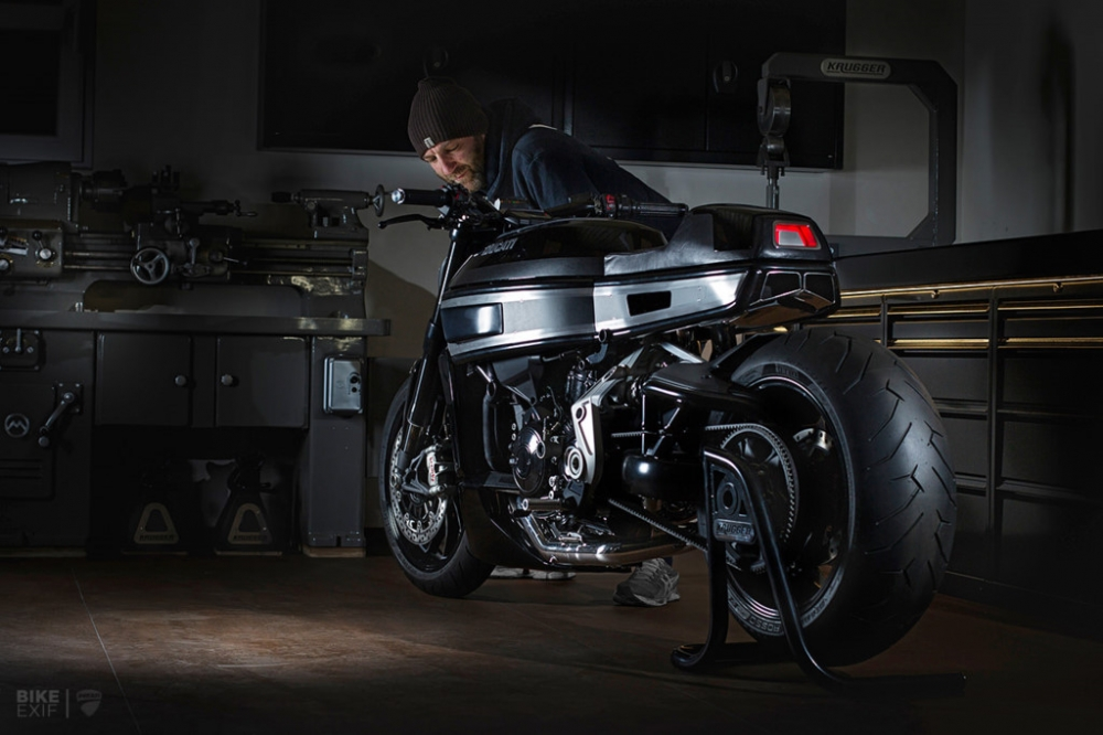 Ducati Xdiavel S lot xac day an tuong voi phong cach Cafe Racer - 3