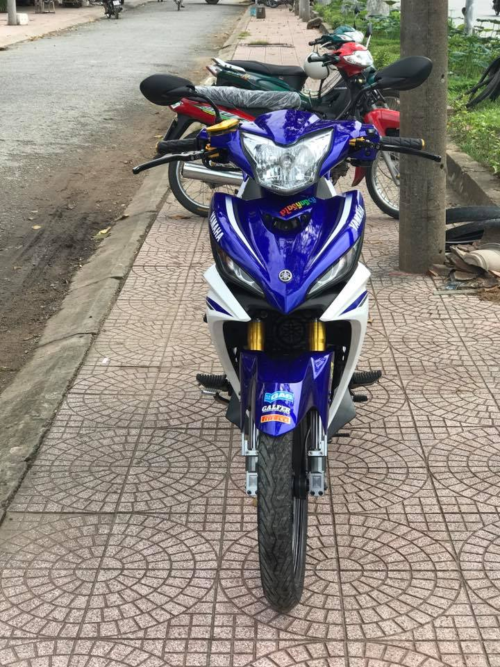 Exciter 135cc phien ban do nhe nhang day suc sang tao - 4