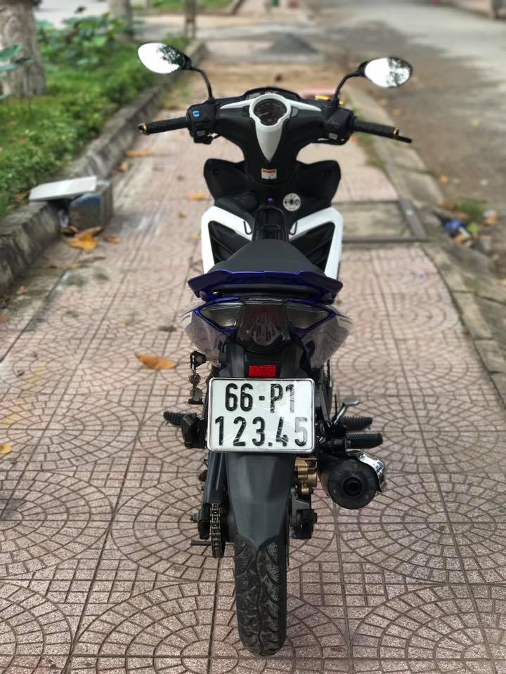 Exciter 135cc phien ban do nhe nhang day suc sang tao - 6