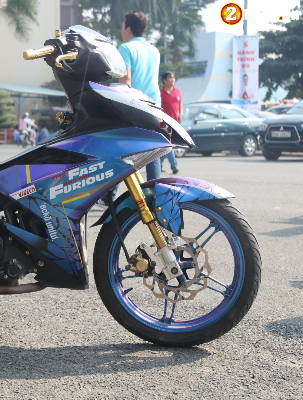 Exciter 150 kieng nhe an tuong voi bo canh Fast and Furious - 4