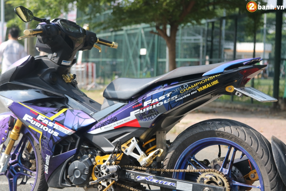 Exciter 150 kieng nhe an tuong voi bo canh Fast and Furious - 6