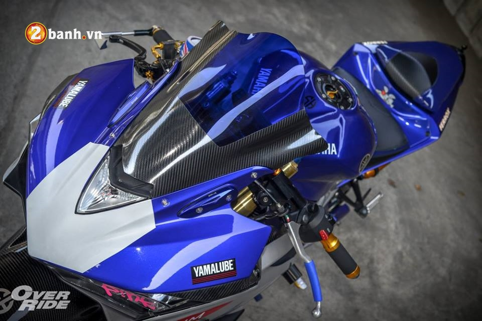 Yamaha YZFR3 hoan hao trong ban do khung long Full Sport Option - 3