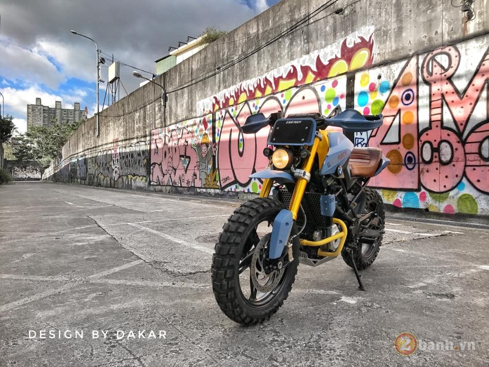 BMW G310R do lot xac day ngoan muc cua biker Dai Loan - 3