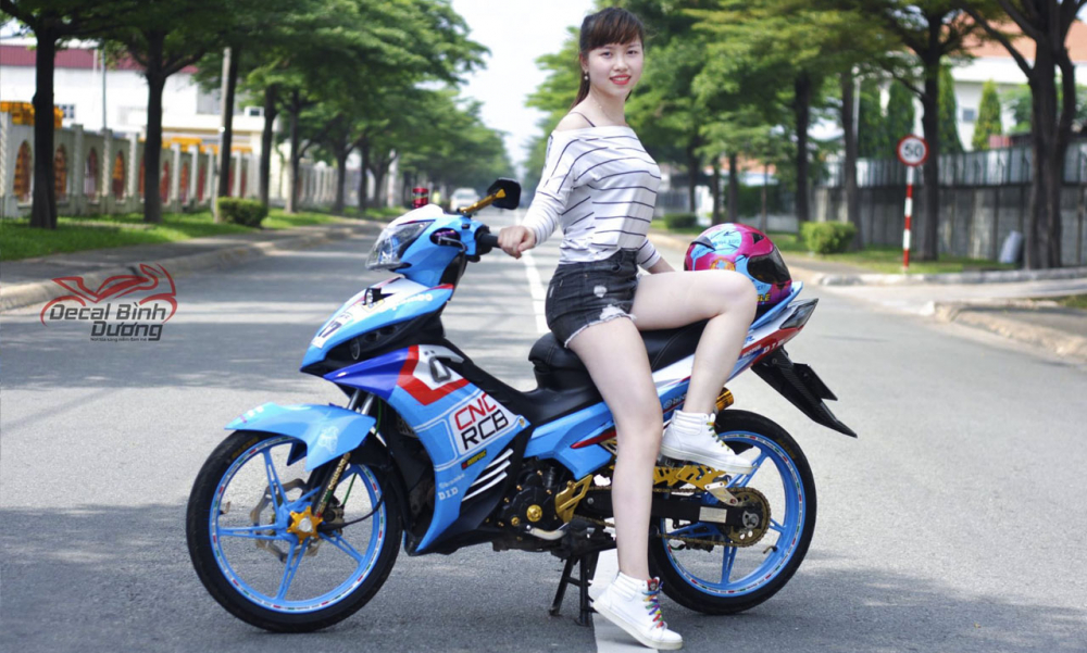 Xe Exciter 135  King P  Dng Hot Girl Ti Bnh Dng -4269