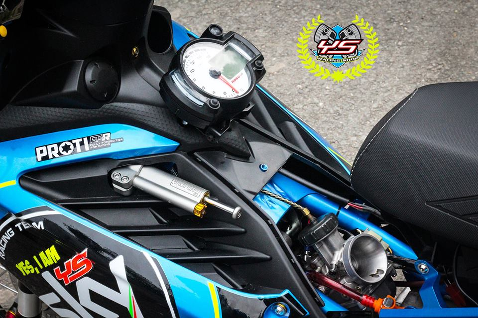 Exciter 135 do phong cach Drag day manh me uy luc - 8
