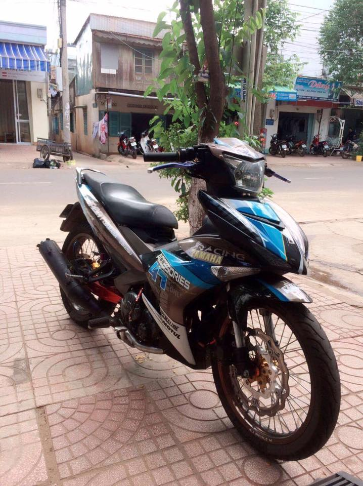 Exciter 150 do day noi bat voi dan banh cam nhe nhang nhung lai day cung cap - 4