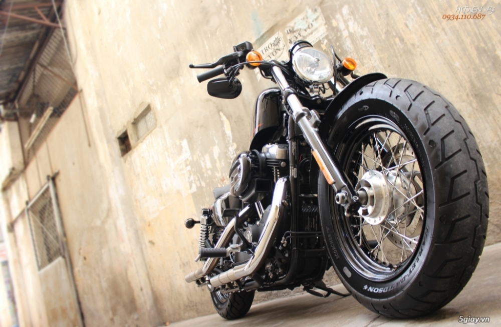 ___ Can Ban ___HARLEY DAVIDSON FortyEight 1200cc ABS 2015___