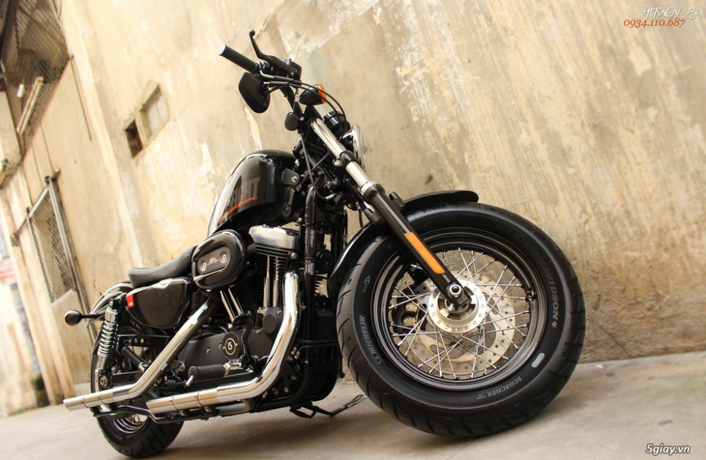 ___ Can Ban ___HARLEY DAVIDSON FortyEight 1200cc ABS 2016___