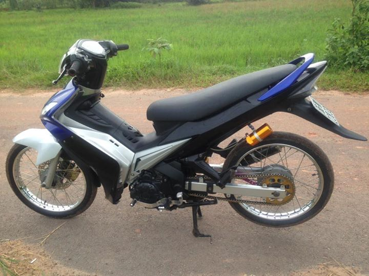 Exciter 135 do day cung cap va tho bao voi co may 62zz - 5