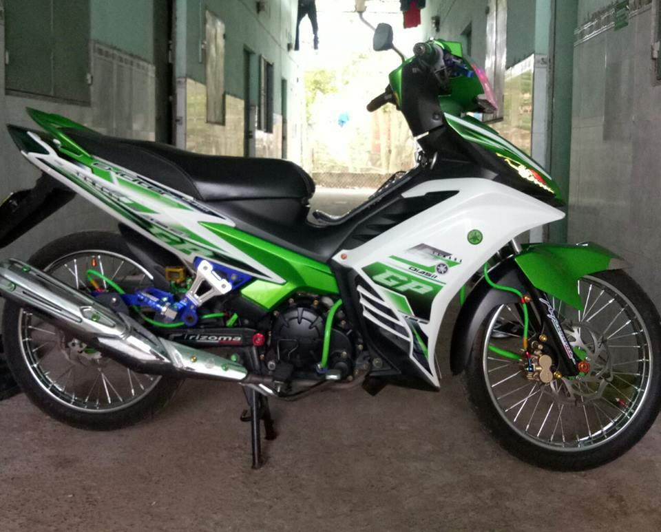 Exciter 135 do don gian day ca tinh cua biker Tien Giang - 3