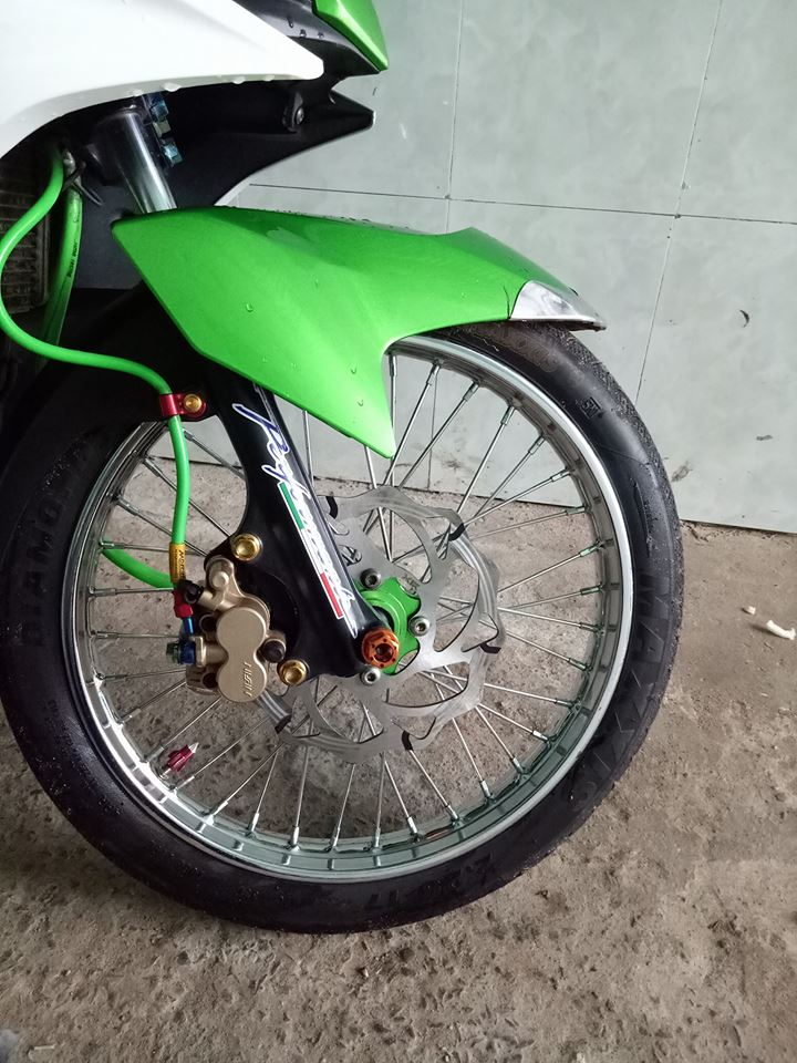 Exciter 135 do don gian day ca tinh cua biker Tien Giang - 5