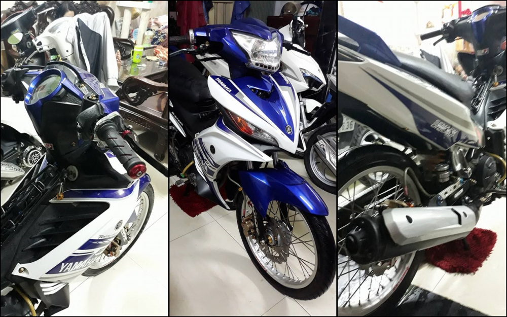Exciter 135 do don nhe nhang voi phong cach LC 135 day tao bao
