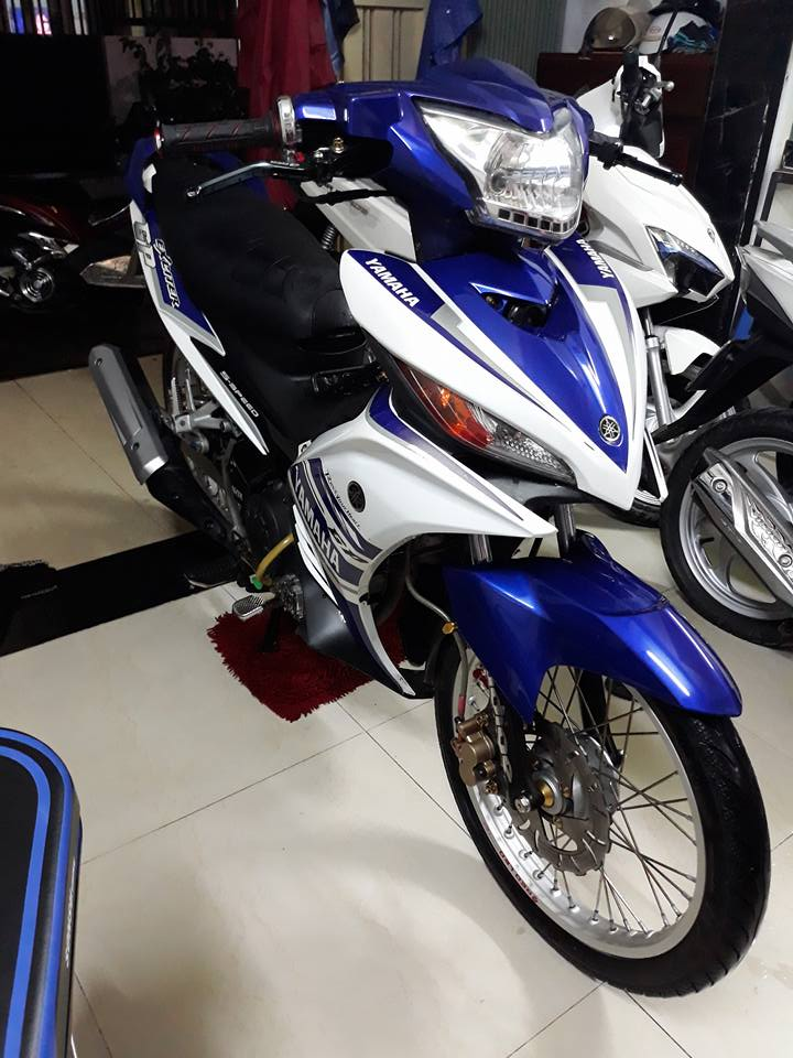 Exciter 135 do don nhe nhang voi phong cach LC 135 day tao bao - 5