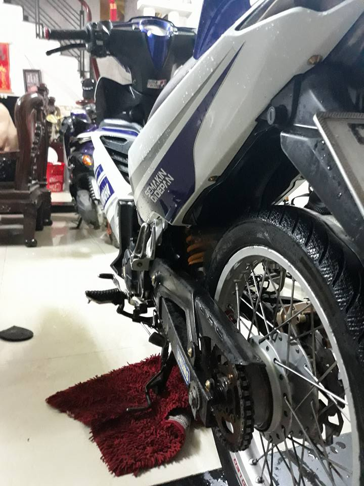 Exciter 135 do don nhe nhang voi phong cach LC 135 day tao bao - 8