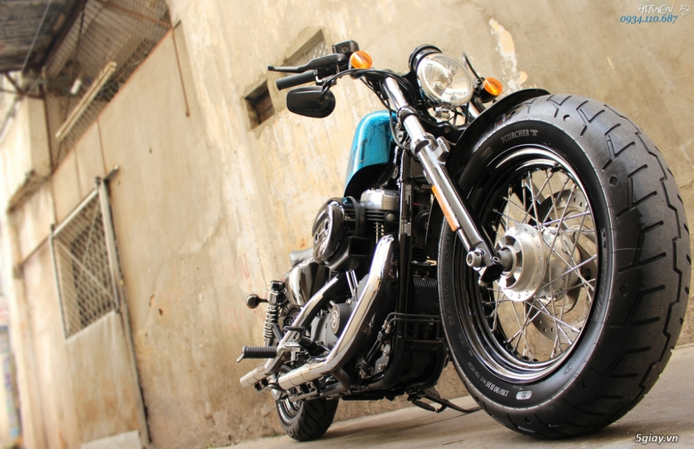 ___ Can Ban ___HARLEY DAVIDSON FortyEight 1200cc ABS 2015 Hard Candy___