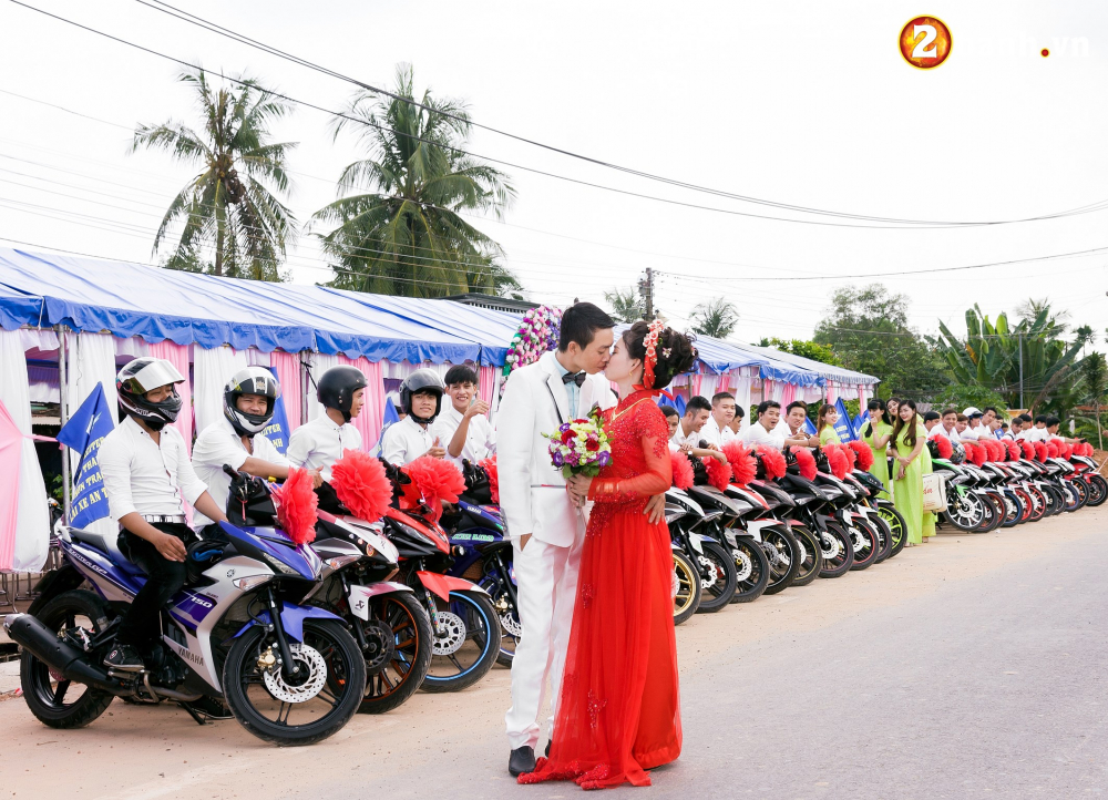 Club Exciter ACE Long Thanh Nhon Trach voi doi hinh 40 chiec Exciter cuop dau day hoanh trang - 16