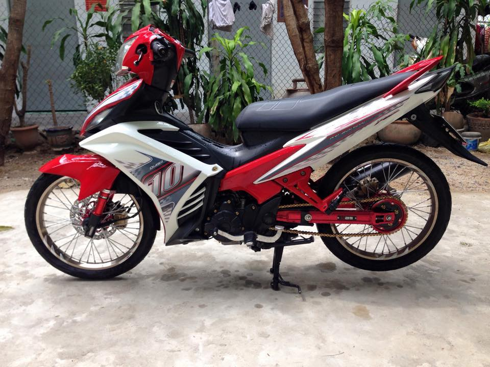 Exciter 135 do ruc ro voi sac do noi bat cua biker Viet - 8