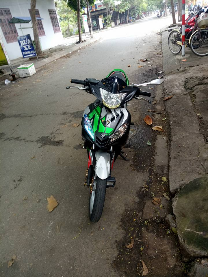 Exciter 135 do kha sang tao voi phong cach xoay nguoc thoi gian - 4