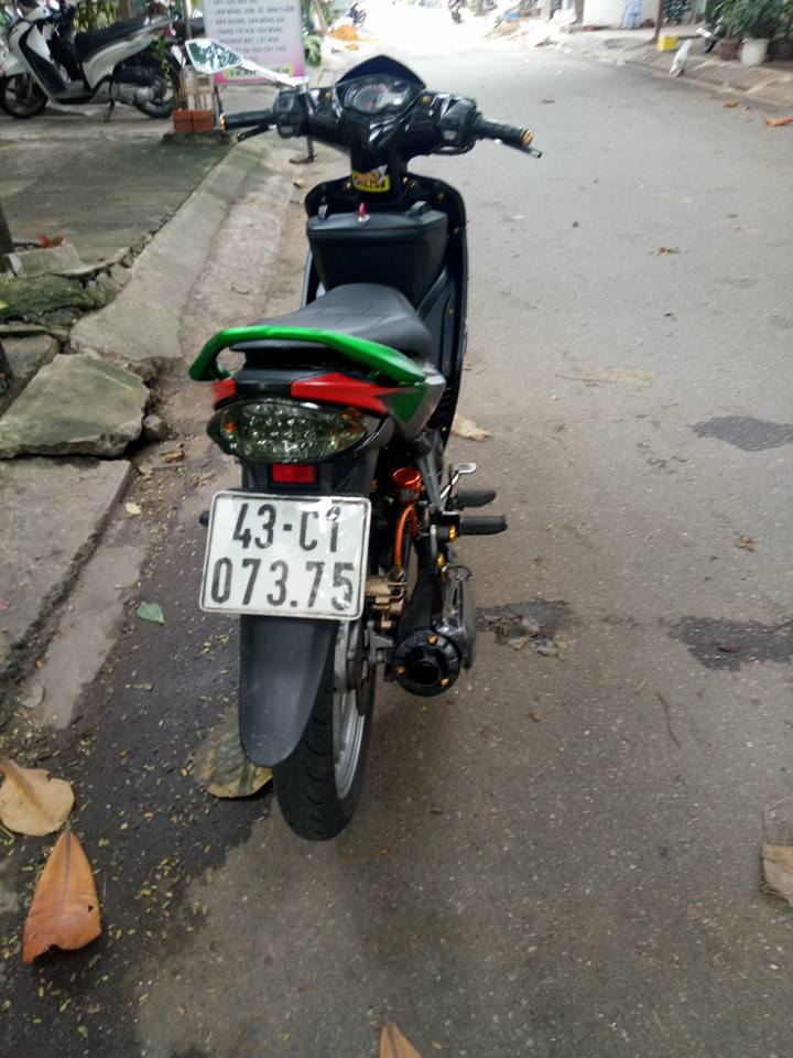 Exciter 135 do kha sang tao voi phong cach xoay nguoc thoi gian - 10
